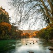 Beautiful river in Fontaine-de-Vaucluse, France — Stock Photo #16278713