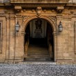 Old house entrance — Stock Photo #16851045