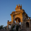 Stock Photo: Fountain in a Parc de la Ciutadella, Barcelona