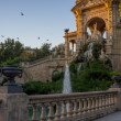Fountain in a Parc de la Ciutadella, Barcelona - Stok fotoraf