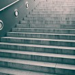 Empty staircase with concrete steps - Stock Photo