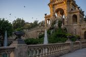 Fontanna w parc de la ciutadella, barcelona — Zdjęcie stockowe