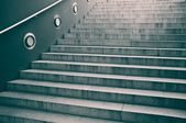 Empty staircase with concrete steps — Stock Photo