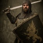 Medieval knight — Stock Photo #18654697