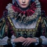 Portrait of beautiful haughty queen — Stock Photo #19146923
