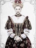 Haughty queen — Stock Photo