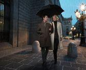 Elegant couple — Stock Photo