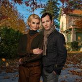 Elegant couple — Stockfoto