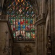 Inside St. Vitus cathedral — Stock Photo #19546119