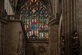 Inside St. Vitus cathedral — Stock Photo