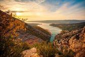 Beautiful view of Gorges du Verdon, France — Stock Photo