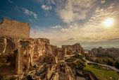 Ruins in Les Baux-de-Provence, France — Stock Photo