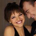 Happy beautiful couple — Stock Photo