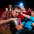 Stock Photo: In cinema