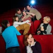 In cinema — Stock Photo