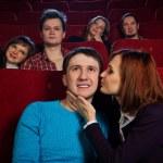 In cinema — Stock Photo #21040355