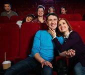 Dans le cinéma — Photo
