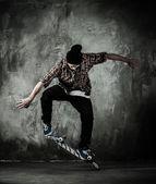 Genç kaykaycı — Stok fotoğraf