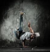 B-boy dancer — Stock Photo