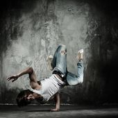B-boy dancer — Foto de Stock
