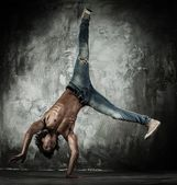B-boy dancer — Stock Photo