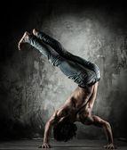 B-boy dansçı — Stok fotoğraf