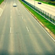 Highway full of cars - Foto Stock