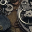 Video Stock: Small mechanical gears