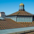 Royalty-Free Stock Photo: Roof of Born Market
