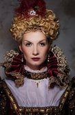 Obrázek krásné královny — Stock fotografie