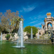 Fountain in a Parc de la Ciutadella, Barcelona — Stock Photo #23541651
