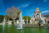 Fountain in a Parc de la Ciutadella, Barcelona — Stock Photo