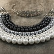 Luxury pearls necklace  — Stock Photo