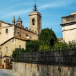 Sant Feliu church in Alella town, Spain - Stock Photo