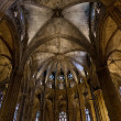 Inside the Cathedral of Santa Eulalia in Barcelona — Stock Photo #24040823