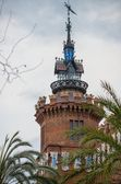 Castell dels tres Dragons (zoological museum) in Parc de la Ciutadella, Barcelona — Stock Photo