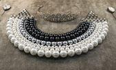 Luxury pearls necklace — Stock Photo