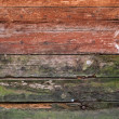 Wooden weathered board texture close-up — Stock Photo