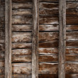 Wooden plank fence background — Stock Photo