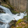 Fast river in mountains — ストック写真