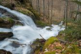 Fast river in mountains — Stock Photo