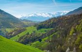 View over Pyrenees mountains — Stock Photo