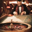 Man in casino — Stock Photo