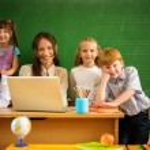 Children in school — Stock Photo #30906901