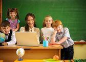 Children in school — Stock Photo