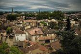 Daken van avignon stad, frankrijk — Stockfoto