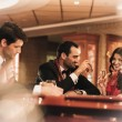 People in casino — Stock Photo