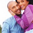 Middle-aged couple outdoor — Stock Photo