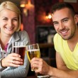 In pub — Stock Photo
