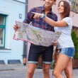 Tourists — Stock Photo